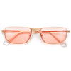 Stylish Half Frame Chic Sunnies - Sunglass Spot