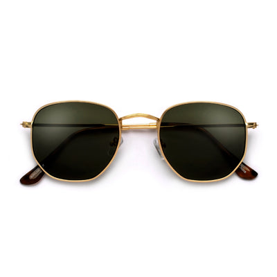 54mm Chic Geometric Flat Lens Sunnies - Sunglass Spot