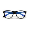 KIDS RETRO 80'S BLUE LIGHT CLEAR EYEWEAR