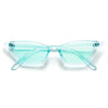 Colorful Edgy Cat Eye Sunnies - Sunglass Spot