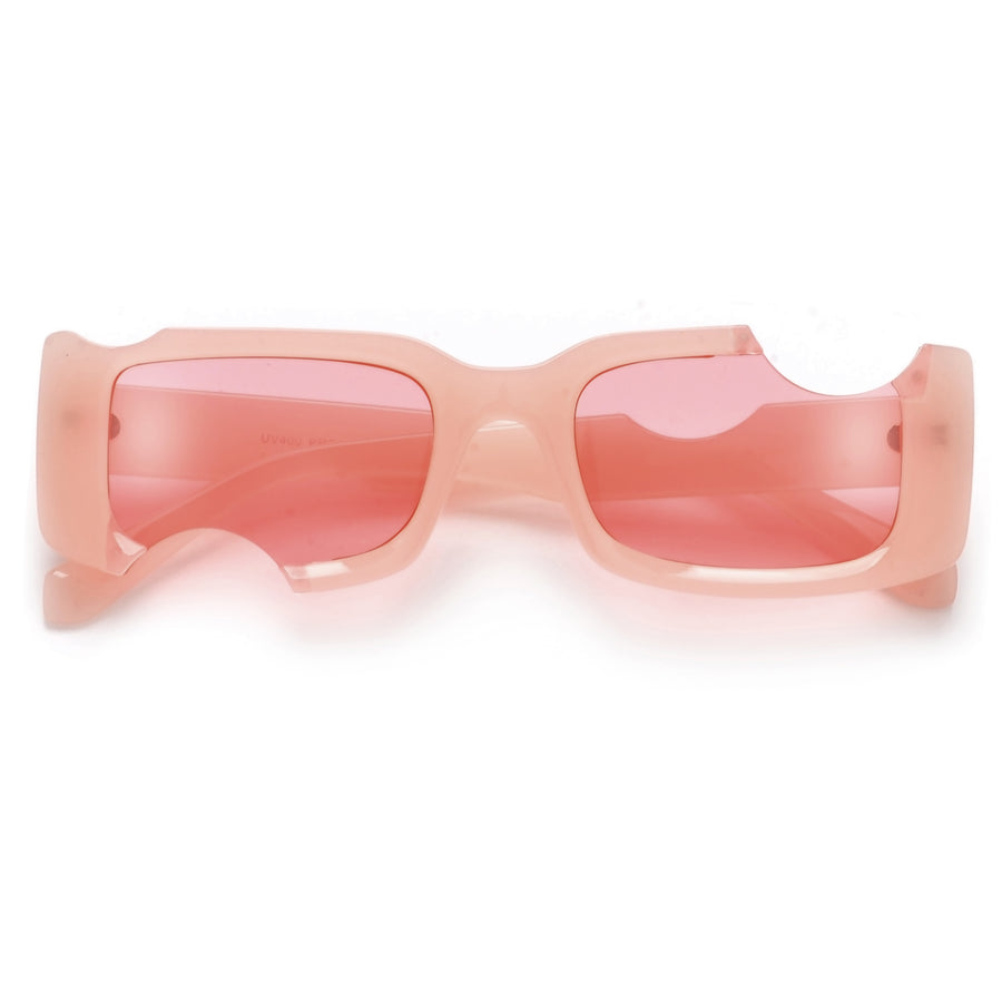 Hot Cut Out Rectangular Sunnies