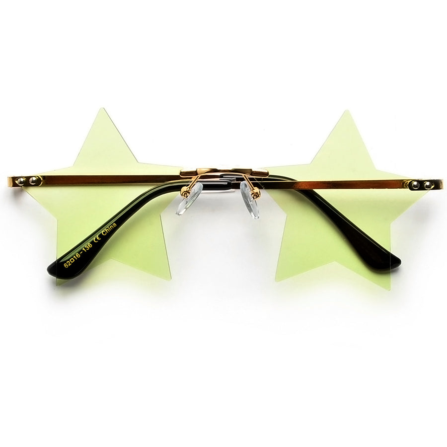 STAR STRUCK RIMLESS SUNNIES
