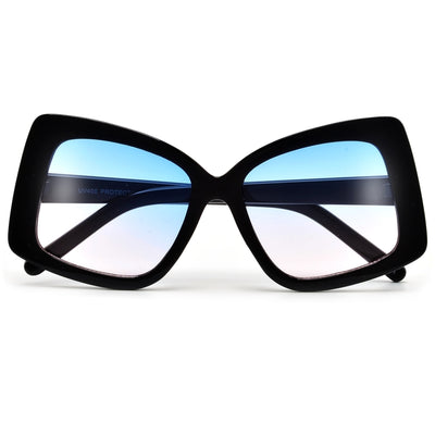 Angular Thick Squared Off Fashion Sunnies