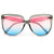 Stylish Flat Top Trendy Squared Sunnies