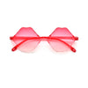 Cute Kids Geometric Rimless Sunnies