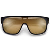 Ultra Modern Shield Sunnies - Sunglass Spot