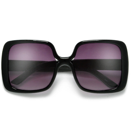 4f9351cc7c Women s Oversized Square Frame Chic Fashion Sunglasses - Sunglass Spot