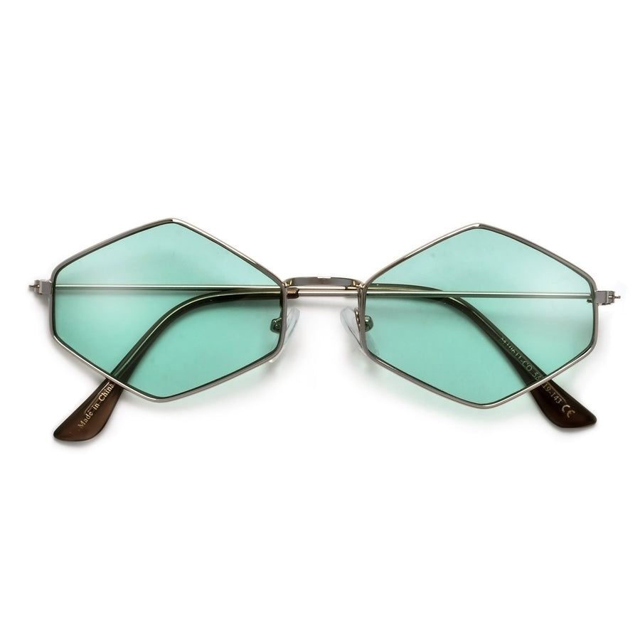 Timeless Glamour Ultra Slim Geometric Sunnies