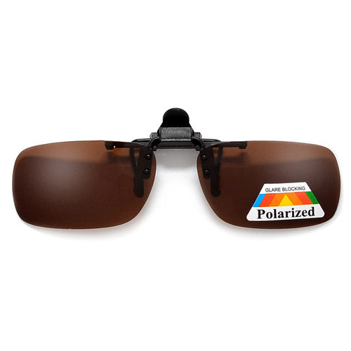 Polarized 52mm-30mm Rectangle Clip-On