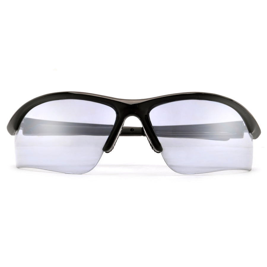Sporty Wraparound Safety Glasses