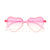 KIDS CUTE RIMLESS HEART SUNNIES