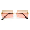 Stylish Flat Top Trendy Squared Sunnies - Sunglass Spot