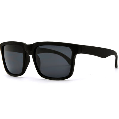 54mm Smooth Matte Keyhole Bridge Men's Daily Shades - Sunglass Spot
