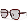 Chic Trendy Flat Lens Retro Appeal Sunglasses - Sunglass Spot