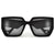 Chunky Bold Cat Eye Sunglasses