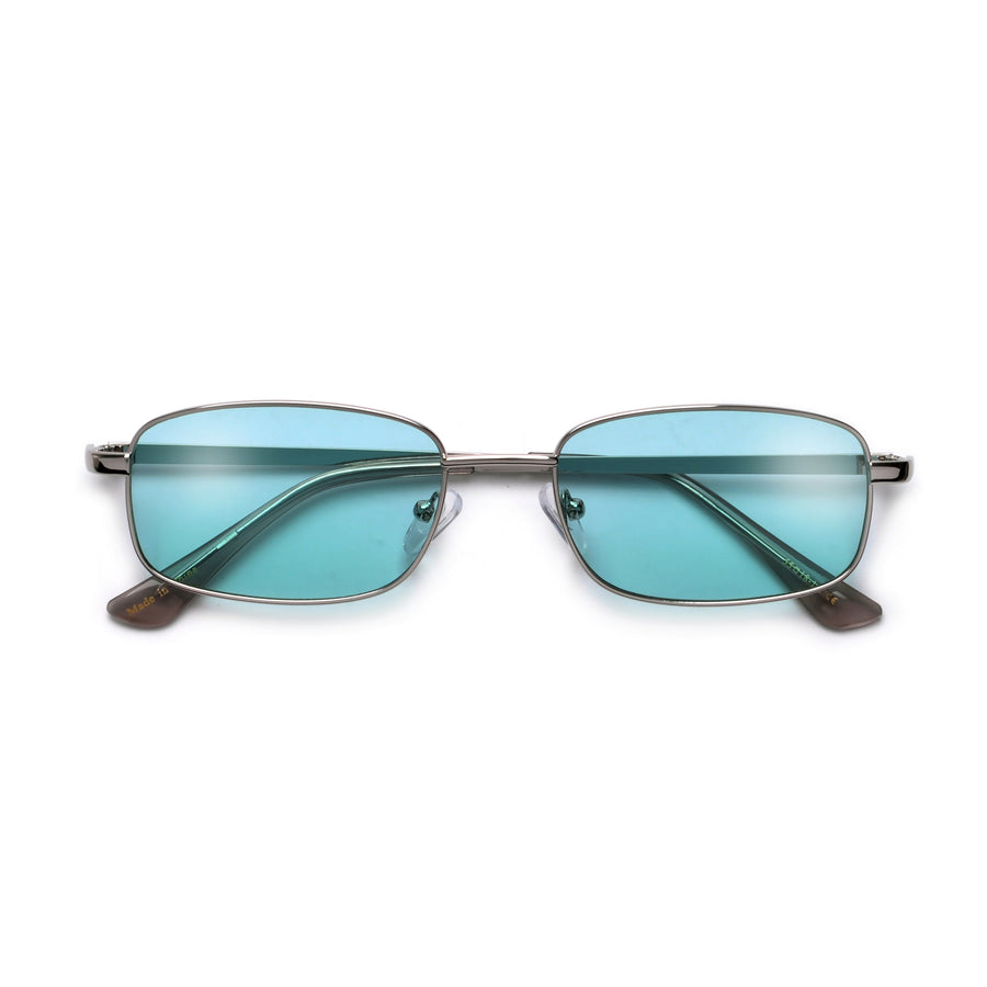 Slim Sleek 55mm Rectangular Sunnies - Sunglass Spot
