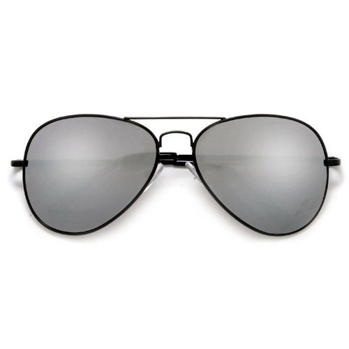 black reflective aviator sunglasses  Classic Full Mirrored Aviator Sunglasses \u2013 Sunglass Spot