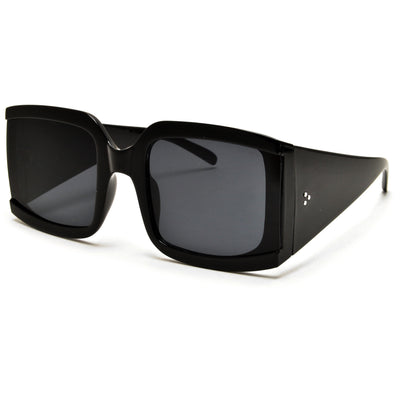 Oversize Retro Chic Squared Off Sunglasses - Sunglass Spot