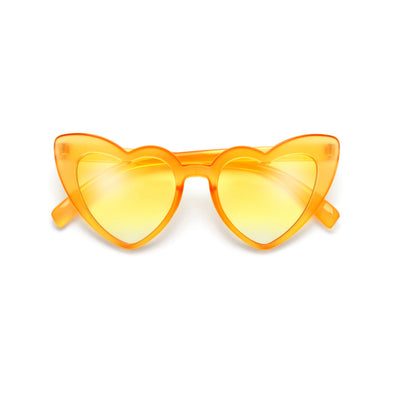 Kids Adorable High Tip Cute Heart Sunglasses