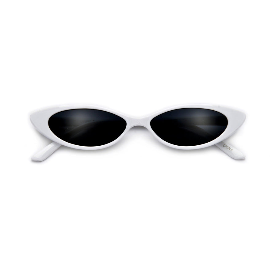 Kids Ultra Thin 90s Cat Eye Sunnies - Sunglass Spot