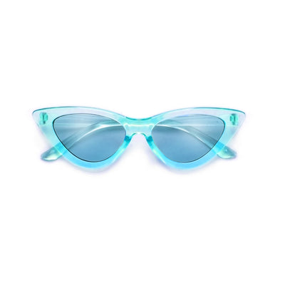 Kids Slim Streamlined Cat Eye Sunnies - Sunglass Spot