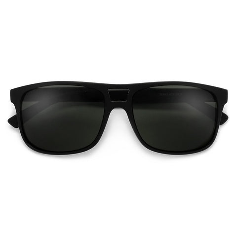 Modern Sophisticated Full Coverage Angular Shield Aviator