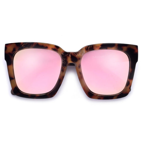 Bold Thick High Pointed Tip Cat Eye Silhouette Head Turner Sunglasses