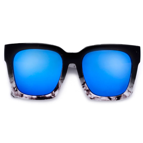 Boldly Chic Oversize 57mm Cat Eye Sunnies