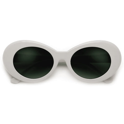 Vintage Inspired Oval Cobain Clout Sunnies - Sunglass Spot