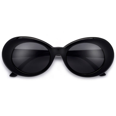 Sophisticated Retro Round Open Temple Elegant Eyewear