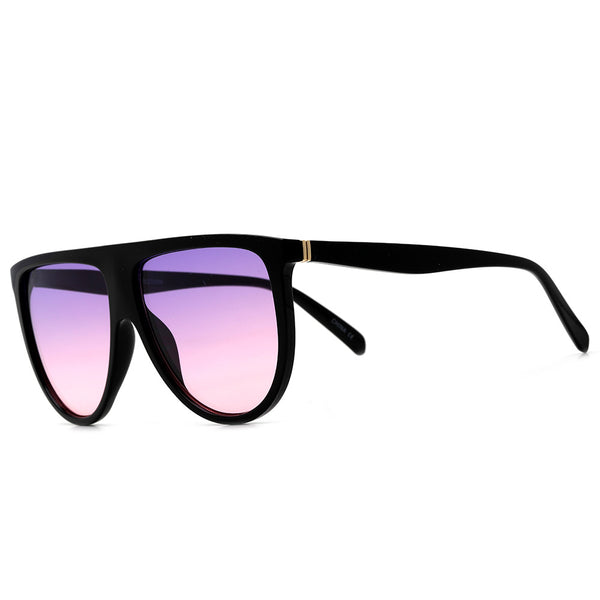 61mm Oversize Modern Flat Top Thin Lightweight Aviator