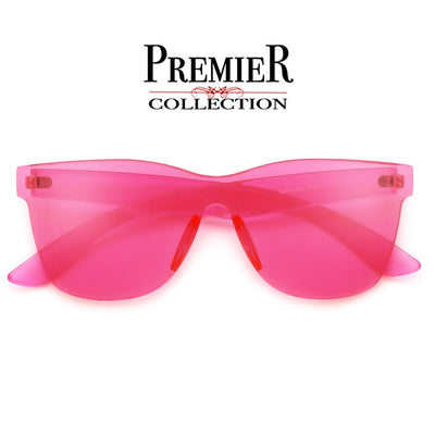 Premier Collection-Colorful Bright Frameless Bold Aesthetic Sunnies - Sunglass Spot