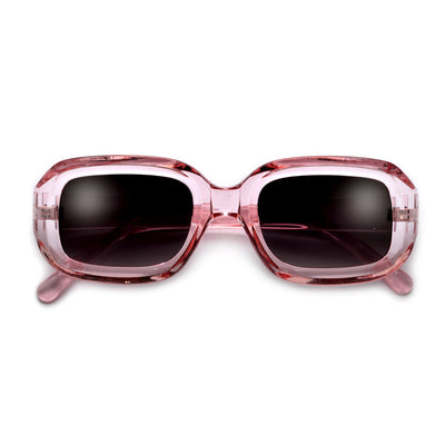 Chunky Squared Deep Flat Lens Chic Sunnies