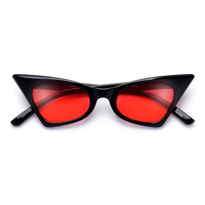 Retro High Tip Geo Cat Eye Sunnies - Sunglass Spot