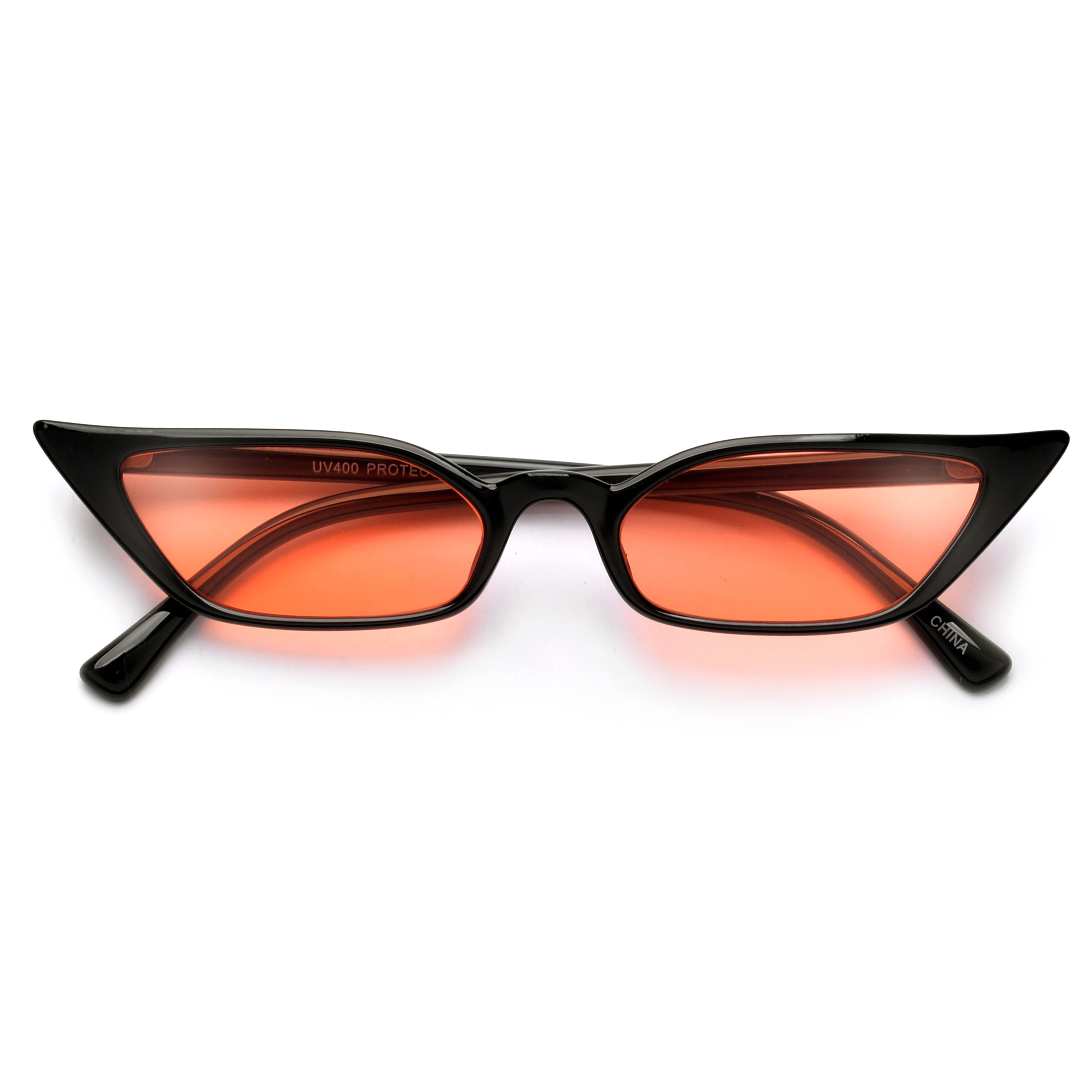Narrow Pointed Edge Cat Eye Sunnies