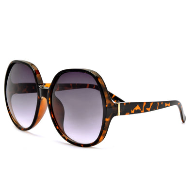 Oversize 62mm Women's Round Fashion Sunglasses - Sunglass Spot