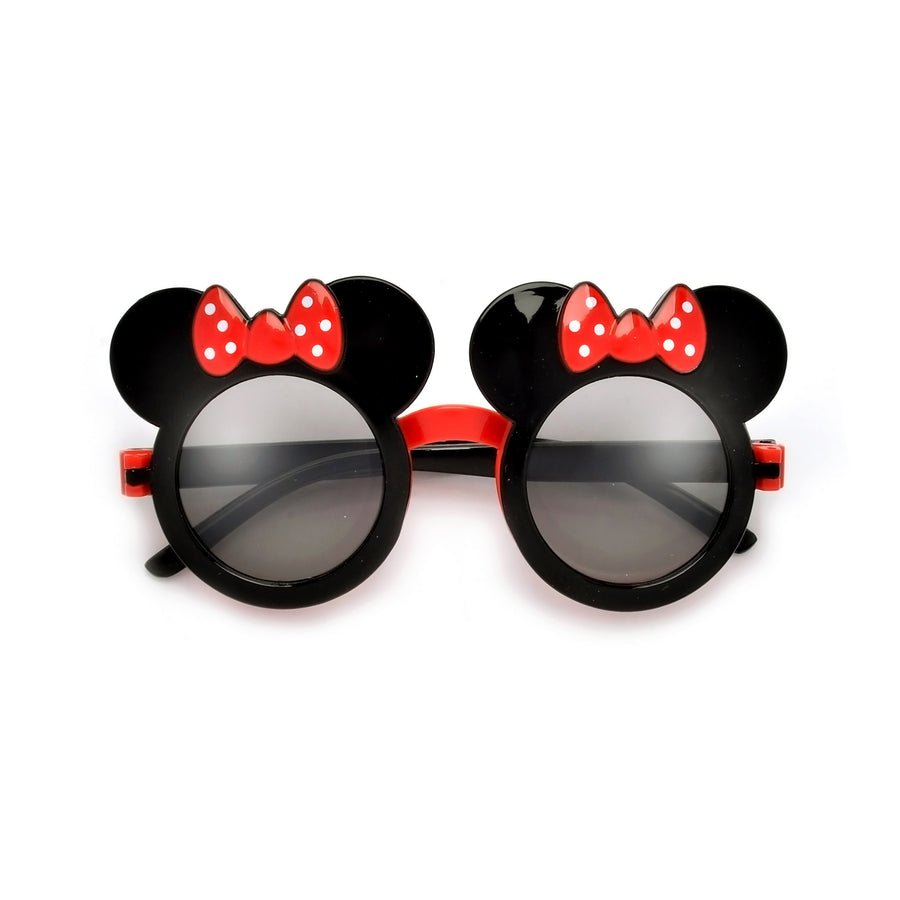 Kids Adorable Mouse Silhouette Flip Sunglasses