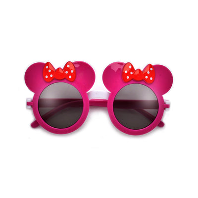 Kids Adorable Mouse Silhouette Flip Sunglasses - Sunglass Spot
