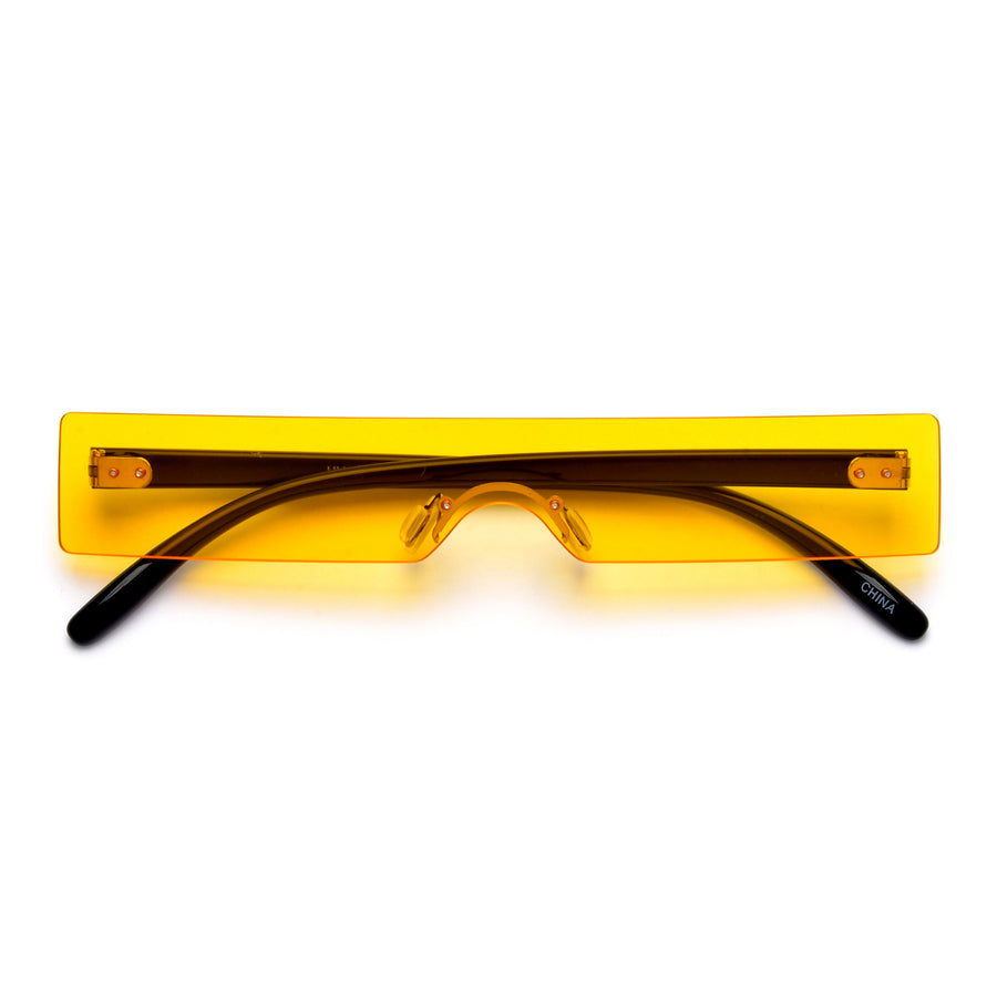 Ultra Slim 90s Throwback Shield Sunglasses