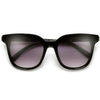 Modern Flat Shield Lens Cat Eye Sunnies - Sunglass Spot