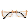 RETRO VIBE SLIM VENTILATED SIDE CUP CLEAR EYEWEAR