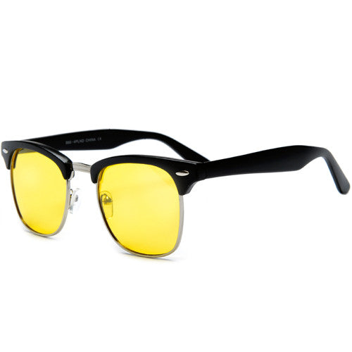 2 Pack Iconic Duo HD Night-Time Yellow Tint Lens Driving Sunglasses - Sunglass Spot