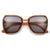 Chic Trendy Flat Lens Retro Appeal Sunglasses