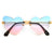 Love at First Sight Rimless Horse Shoe Temple Sunnies