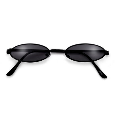 90s Ultra Slim Oval Sunnies - Sunglass Spot
