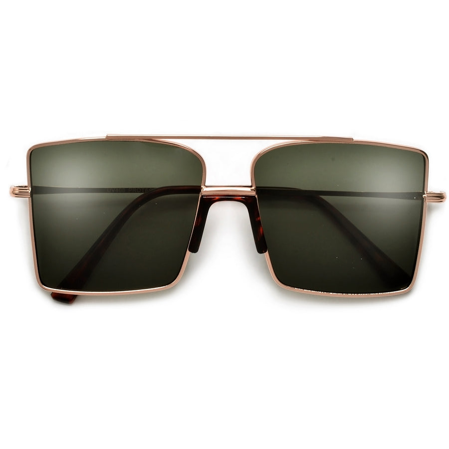 Slim Angular Retro Glam Sunnies
