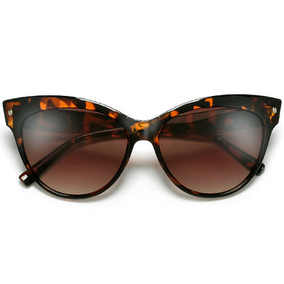 Retro Glamour 58mm Studded High Pointed Tip High Fashion Cat Eye Sunglasses