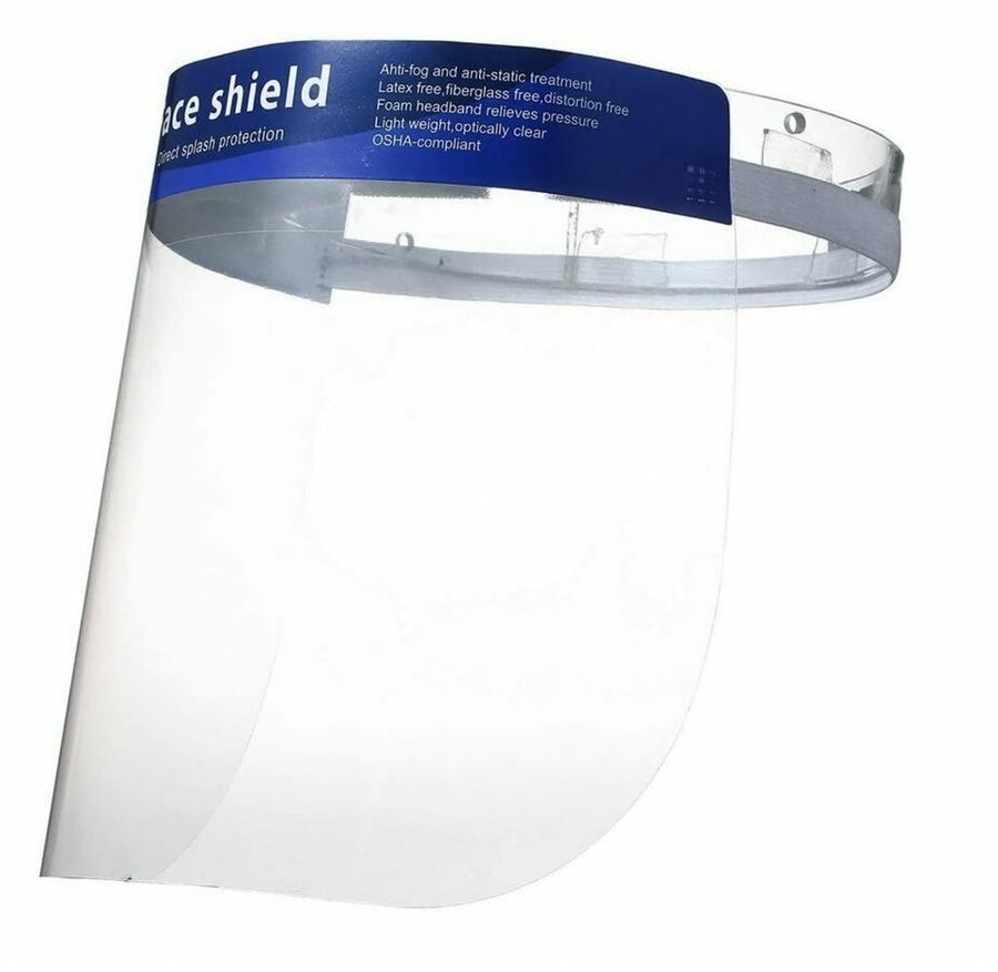 Full Coverage Wrap Around Anti-Fog Safety Protective Face Shield