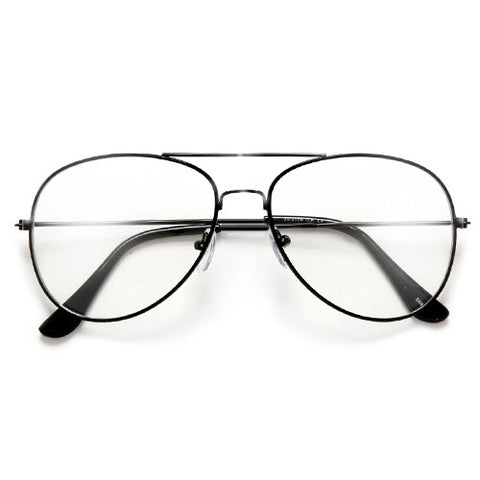 Round 50mm Half Frame Semi Rimless Clear Lens Sophisticated Cat Eye Fashion Glasses