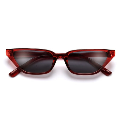 Sleek and Slim Cat Eye Sunnies - Sunglass Spot